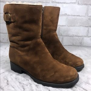 Suede Zippered Insulated Winter MARE Boots